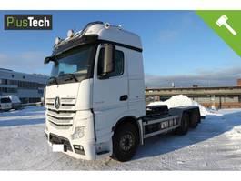 chassis cabine vrachtwagen Mercedes-Benz Actros 2558 2017