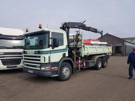 kipper vrachtwagen > 7.5 t Scania P114-340 114-340 6x4 spring 2000