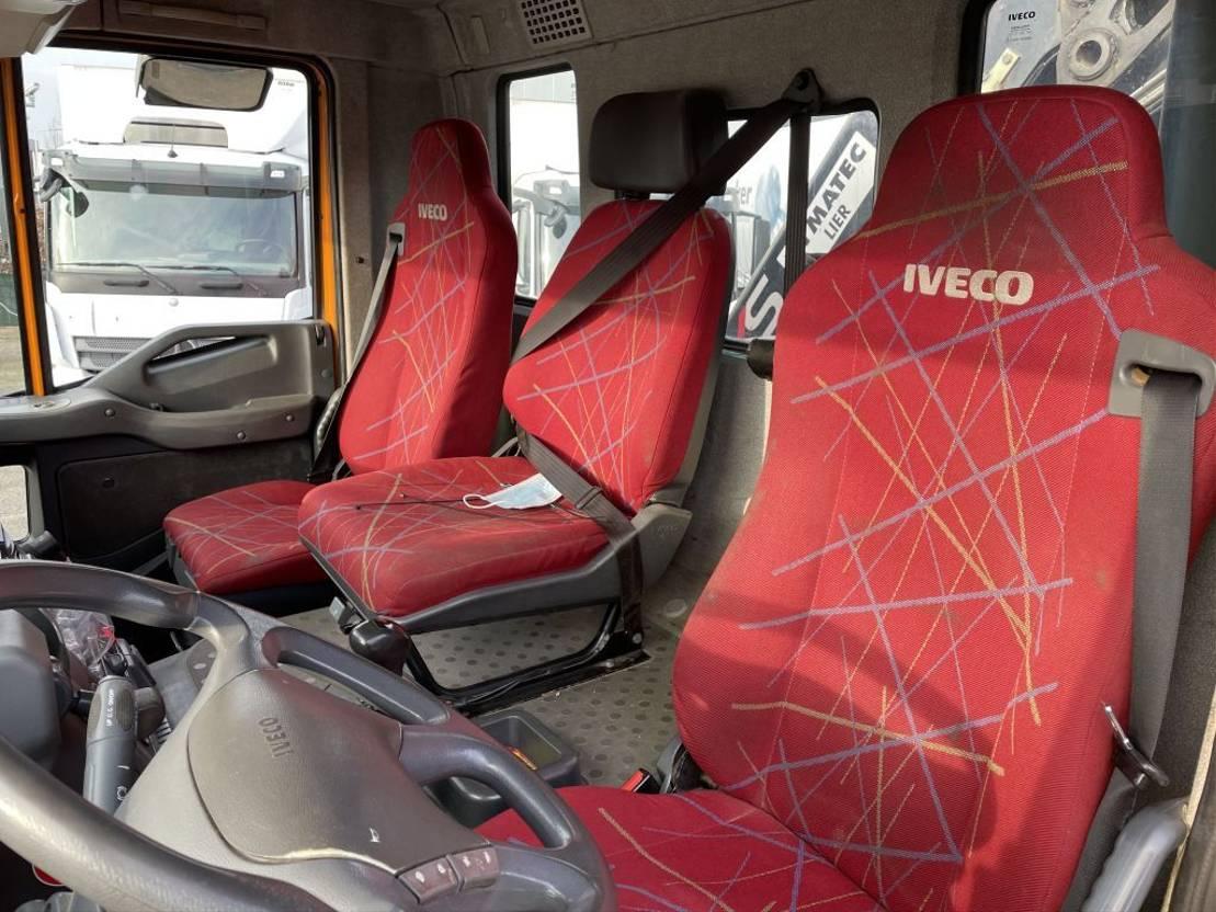 driezijdige kipper vrachtwagen Iveco Eurotrakker 380 trakker 380 6x6 2005 bj hiab 122 hipro radio control 2005