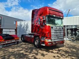 standaard trekker Scania R164 164-580 topline retarder airco 2002