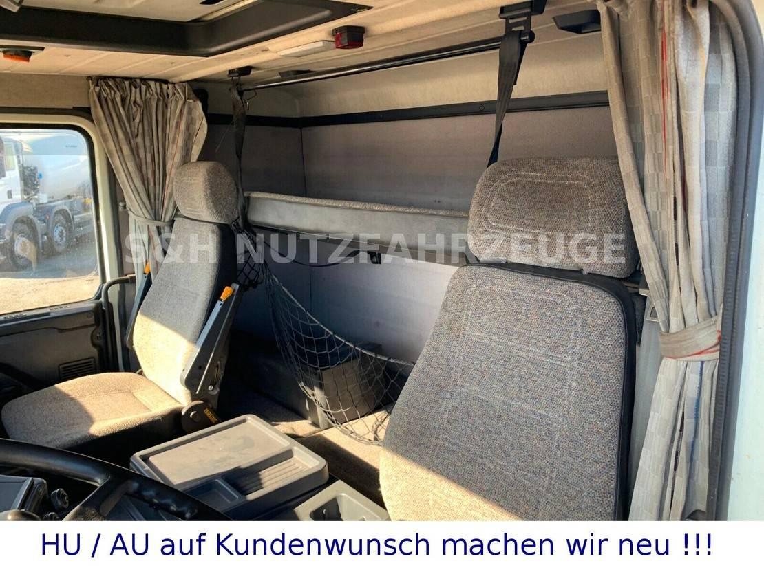 platform vrachtwagen Scania 6x4 PRITSCHE MIT KRAN 1993
