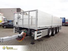 open laadbak aanhanger GS Meppel AN-2400 + 3 Axle 2014