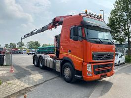 standaard trekker Volvo FH 500 6X4 EURO 5 / Kran FASSI F455 /Blatt-Blatt 2012