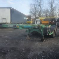 container chassis oplegger ASCA containerchassis 20'' 2005