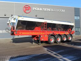 kipper oplegger Kel-Berg 4-axle asphalt transport belt 2018