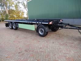 container chassis aanhanger Meiller A24EL5.8 - 3 As Aanhangwagen T.b.v. BDF laadbakken – Vuil Containers - D... 2004
