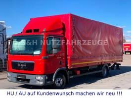 huifzeil bedrijfswagen MAN TGL 8.180 PRITSCHE PLANE MIT LBW EURO 5 2012