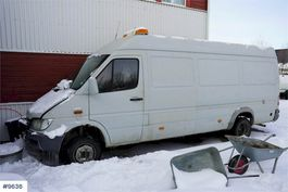 overige bouwmachine Mercedes-Benz Sprinter 416 flush truck 2002