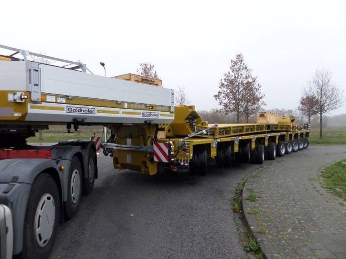 semi dieplader oplegger Goldhofer STHP GOOSENECK + THP SL 4 AND 6 AXLE MODULES + DROPDECK 14.000 mm 2021