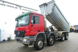 kipper vrachtwagen Mercedes-Benz Actros 4141 AK 8x6 4 Achs Muldenkipper Meiller 2007