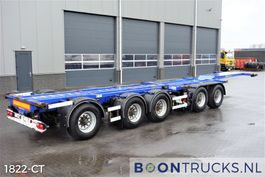 container chassis oplegger D-TEC CT-53-05D | 2x20-30-40-45ft COMBITRAILER 2005
