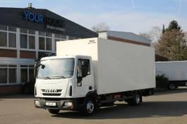 gesloten bestelwagen Iveco EuroCargo ML 75E16 EEV Koffer 6,3m/Klima/LBW 2012