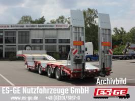 dieplader oplegger ES-GE 3-Achs-Satteltieflader mit Radmulden 2019