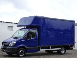 gesloten bestelwagen Mercedes-Benz Sprinter 516 cdi Koffer Maxi Ahk Lbw Lkw 3,5t Euro 6 2013