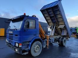kipper vrachtwagen > 7.5 t Scania P92 92.250 **BELGIAN TRUCK** SUPER SUPER SUPER!!! 1988