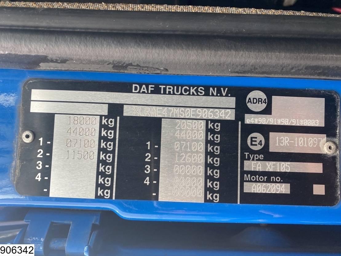 autotransporter vrachtwagen DAF XF 105 460 SSC, EURO 5, Retarder,Trucktransporter,Combi 2011