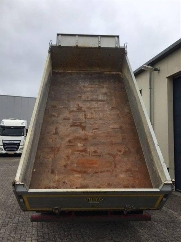 driezijdige kipper vrachtwagen MAN TGS 18.440 Euro 6 4x2 3-zijdige - 3-seiten kipper  MANUAL Gearbox - GOOD CONDITION!! 2015