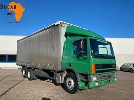 bakwagen vrachtwagen DAF CF 75 300 ATI EURO 2 (10 TIRES) 6x2 1997