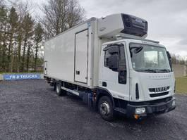 koelwagen vrachtwagen Iveco Eurocargo 100E19 - EURO6 - BI TEMP-HAYON