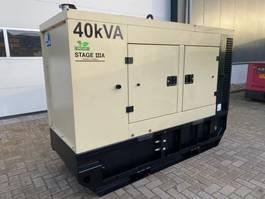 generator Doosan Mitsubishi S4S Leroy Somer 40 kVA Supersilent Rental generatorset 2015