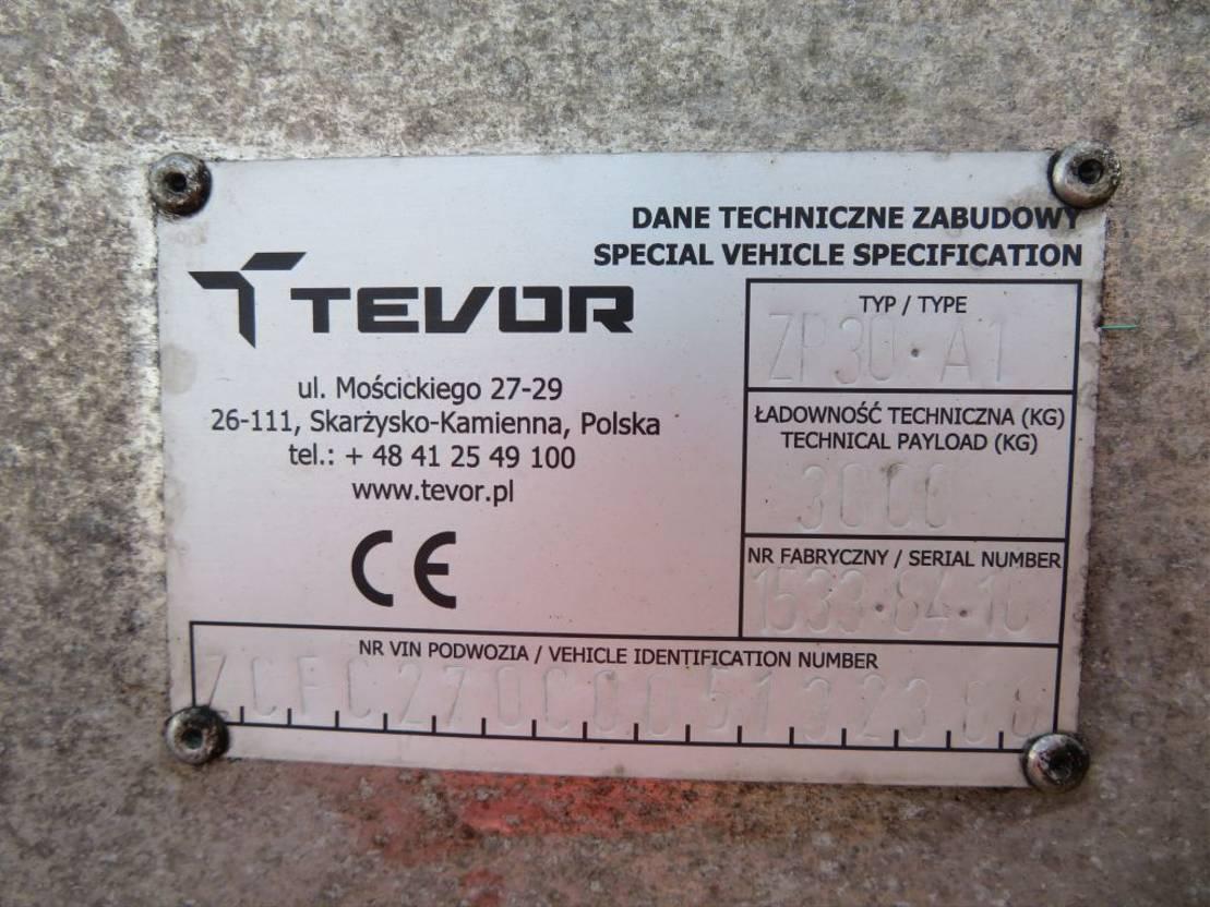 autotransporter vrachtwagen Iveco DAILY 70C 170 TEVOR