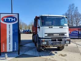 kipper vrachtwagen > 7.5 t Iveco MP410E37H Eurotrakker 8x4 | Hardox Tipper | Fullsteel Big axles | Engine 82.10.42K | Manual gearbox 1999