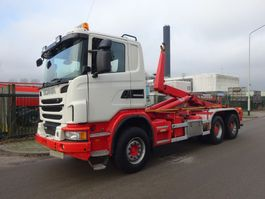 containersysteem vrachtwagen Scania G 480 6X4 EURO 5 / HAAKSYSTEEM 25 TONS / MANUAL GEARBOX / KEURING 2022 !! 2013