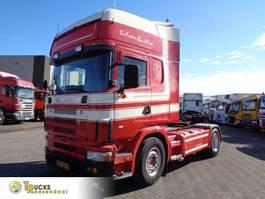 standaard trekker Scania R420 124 + 3 Pedals + Retarder 2004