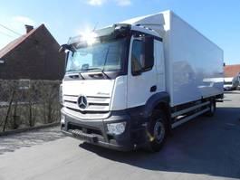 bakwagen vrachtwagen Mercedes-Benz Antos 1833L 2017