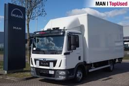 bakwagen vrachtwagen MAN TGL 8.180 4X2 BL 2017
