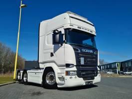 standaard trekker Scania R580-V8 R580 6X2 Boogie V8 with Hydraulics 2014