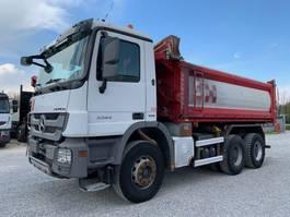 kipper vrachtwagen > 7.5 t Mercedes-Benz Actros 3344 K 6x4 Euro5 2011