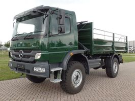 open laadbak vrachtwagen Mercedes-Benz 1317-A 4x4 - Euro 2 - Flatbed - RHD - NEW