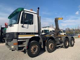 kipper vrachtwagen > 7.5 t Mercedes-Benz Actros 4143 K 8x4 Euro3 2002