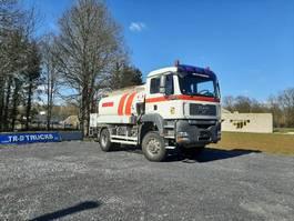 tankwagen vrachtwagen MAN 4X4 CITERNE CARBURANT