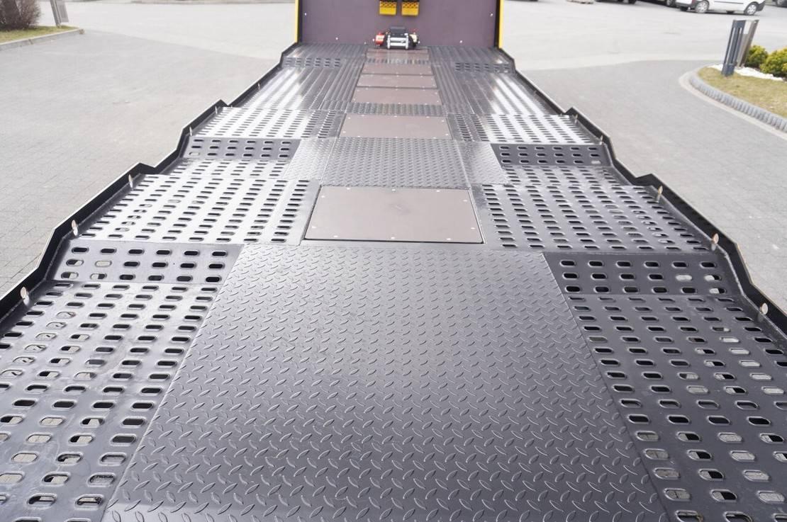 autotransporter vrachtwagen Mercedes-Benz Actros 2545 , E6 , 6x2 , NEW BODY 2021 , 7.9m , ramps , winch , 2017