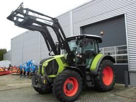 standaard tractor landbouw Claas Arion 530 C-Matic met frontloader en fronthef