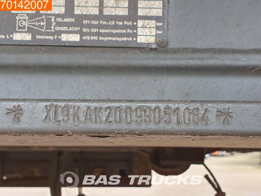 kipper aanhanger Knapen Trailers KAHK-200 3 axles 46m3 Alu-kipper Liftachse 1999