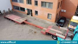 semi dieplader oplegger Lintrailers 3-ass. Uitschuifbare semi dieplader met alu. Kleppen 2010