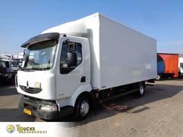 bakwagen vrachtwagen Renault Midlum 220 220 DXI + Manual + Euro 5 + Dhollandia Lift 2013