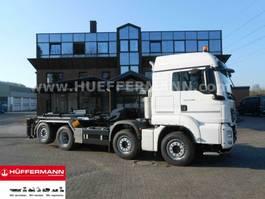 containersysteem vrachtwagen MAN TGS 35.470 8x2-4 BL ZTA35 2-Taschensilosteller 2020