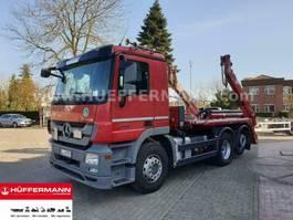 containersysteem vrachtwagen Mercedes-Benz Actros 2544 6x2-4 Retarder E5 Meiller AK 16 MT 2015