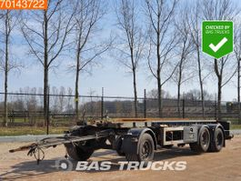 container chassis aanhanger GS Meppel AIC-2700 N 3 axles Liftachse 2006
