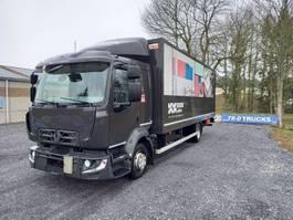 bakwagen vrachtwagen Renault D12 koffer en laadklep dhollandia comfort cabine 2014