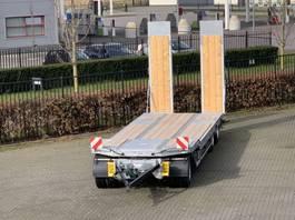 dieplader aanhanger Humbaur 3 assige semi dieplader aanhangwagen 2021