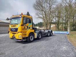 containersysteem vrachtwagen MAN TGS 35 KETTINGSYSTEEM IN ZEER GOEDE STAAT