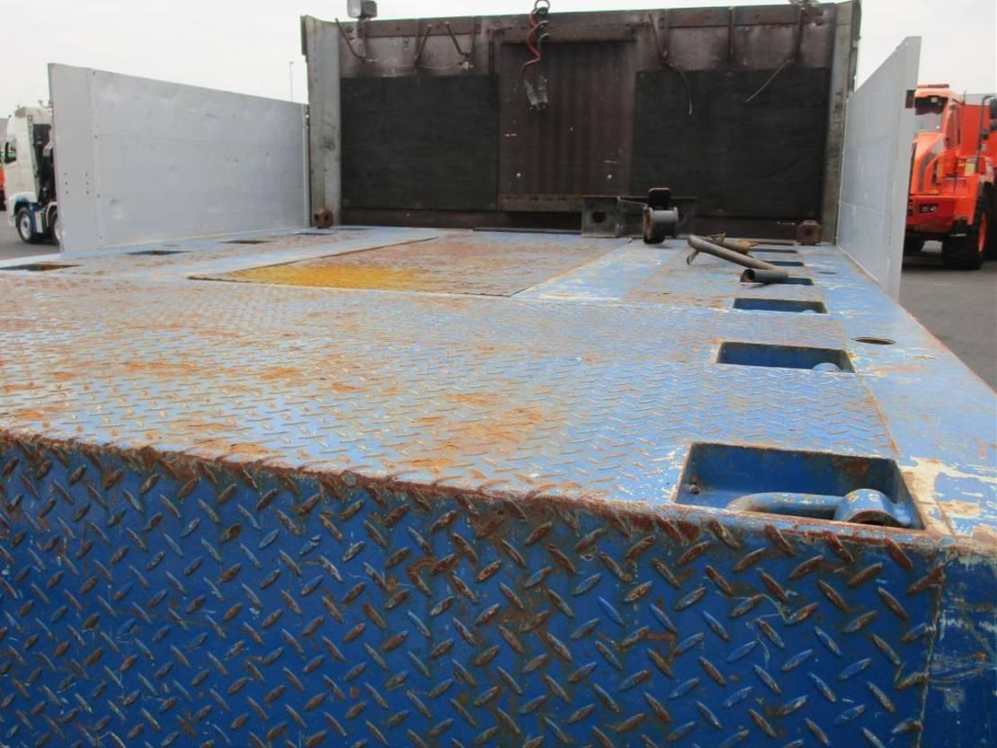 semi dieplader oplegger Diversen SE-38 P 2011