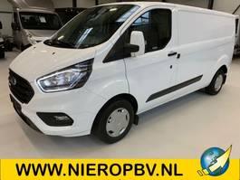 gesloten bestelwagen Ford transit custom 130pk airco 2800kg trekhaak NIEUW 5X OP VOORRAAD 2021