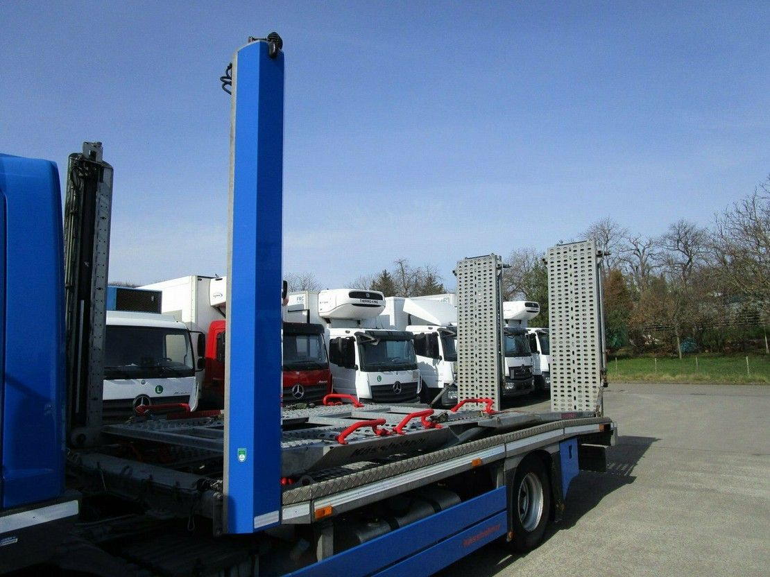 autotransporter vrachtwagen Mercedes-Benz Atego 1224 L AUTOTRANSPORTER 6,2m KÄSSBOHRER 2014