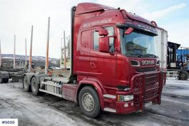 overige bouwmachine Scania R580 6x4 timber truck 2014